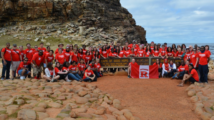 Rutgers at the Cape of Good Hope