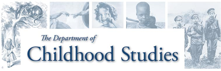 Rutgers Department of Childhood Studies header image