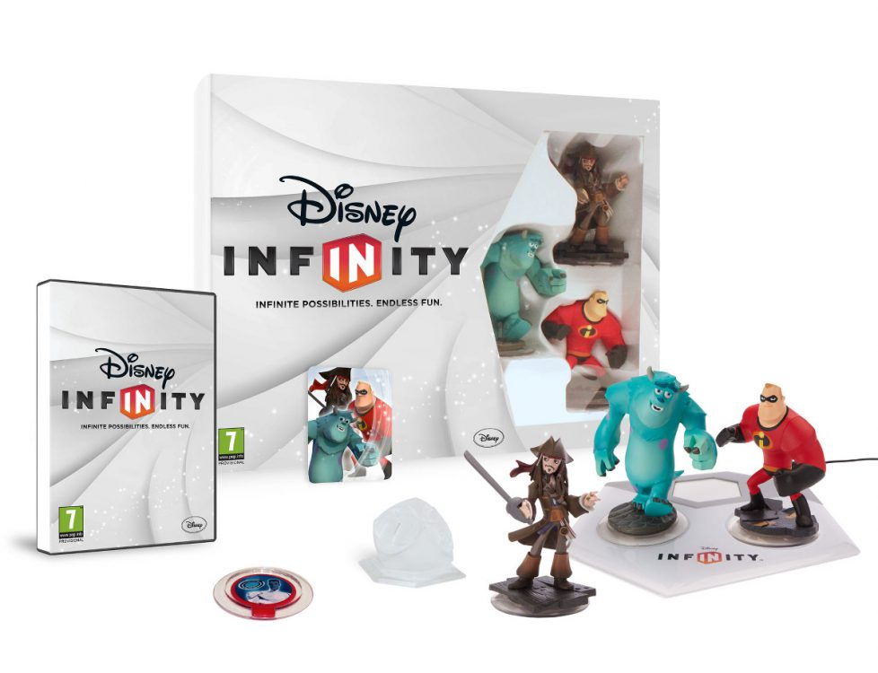 Image of Disney's Infinity game and pieces