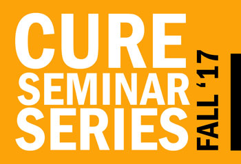 CURE Seminar Series Fall 2017 Schedule