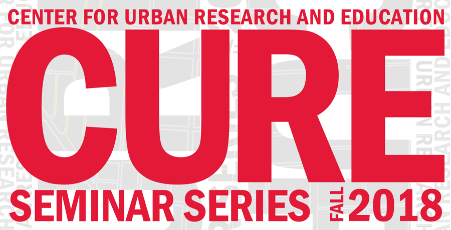 CURE Seminar Series Fall 2018 Schedule Poster
