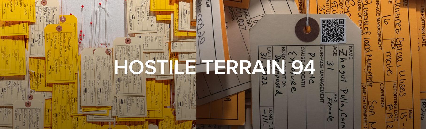 Hostile Terrain 94