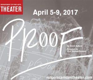 Proof by David Auburn - April 5-9, Walter K. Gordon Theater