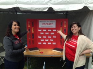 Rutgers Day 2016 Nicole and Melissa