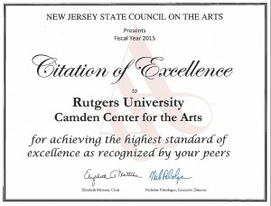 RCCA Citation of Excellence